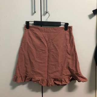 Skirt (peach+brown)