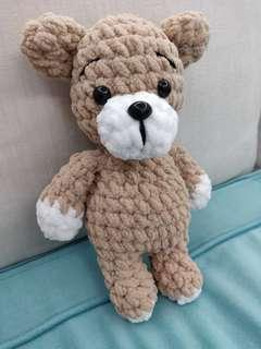 Crochet Plush Bear