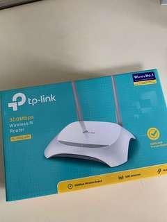 🚚 TP link router 300 mbps
