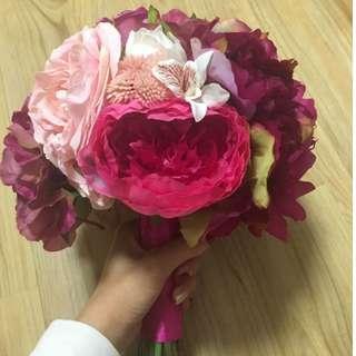 絲花花球 新娘花球 Flower Bouquet