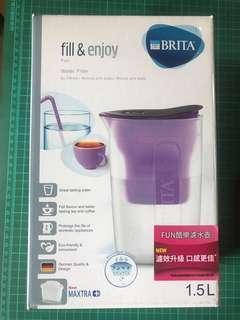 Brita濾水壺1.5L/紫色/全新未拆/尾牙抽到