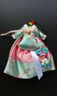 Althea hanbok fragrance scented sachet hanging wood cube decoration car drawer closet cupboard wardrobe air freshener fragrant scent #MMAR18