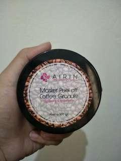 Masker peel off coffe airin