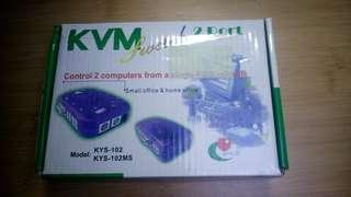 🚚 KVM 2-PORT SWITCH KYS-102
