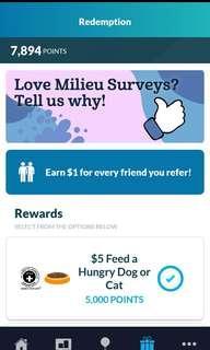 🚚 Milieu Earn money from surveys(share good stuffs around)