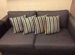 Like NEW Cushion Pillow Bantal Warna Warni ala ikea..Washable Covers..