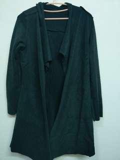 🚚 絨布材質不規則剪裁外套