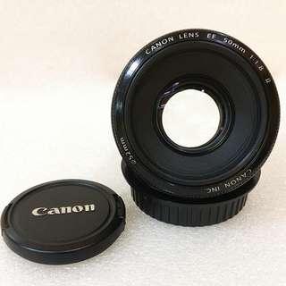 Canon EF 50mm F 1.8 IS II Code 4475