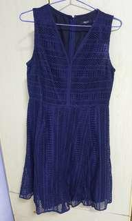 G2000 Blue Lacy Dress