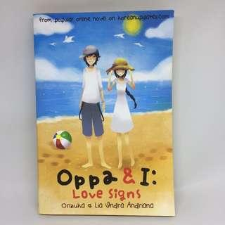 Oppa and I: Love Signs by Orizuka & Lia Andriana