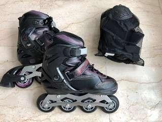 Roller Blades Christou & protective gear
