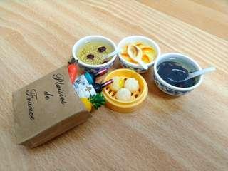 🚚 食物造型磁鐵(五個一組)特賣