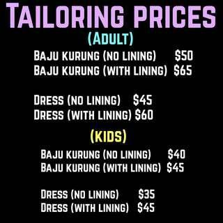 Tailoring Tailor