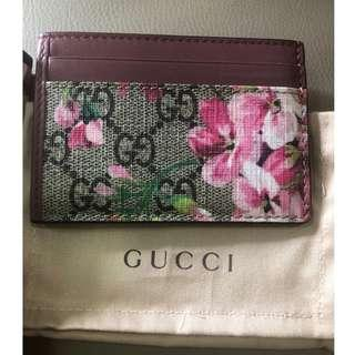 Gucci Blooms card holder