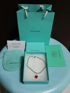 ❤Tiffany&Co. Heart Beads Bracelet