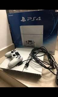 Play station ps4 500gb 連VR+ 8game