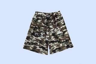 🚚 Boon Camou Army Frisbee Shorts