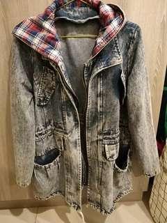 🚚 長版牛仔外套 #半價衣服市集