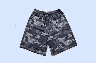 🚚 Boon Camou Black Frisbee Shorts