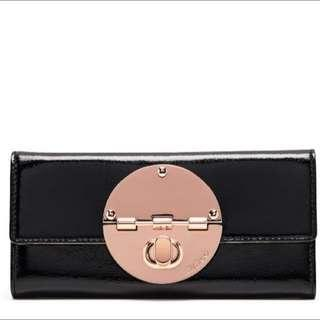 Large Turnlock Mimco Wallet