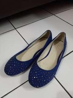 Flat Shoes Le Femmes - Blue