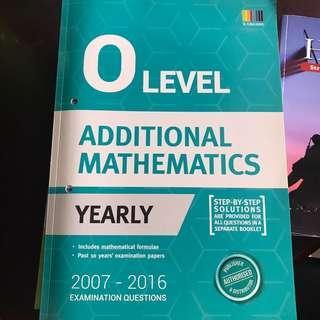 Brand new O Level TYS