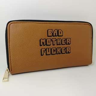 4b9a6a7e488 Pulp Fiction - Jules Original BMF Leather Long Wallet   Purse Samuel L  Jackson