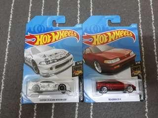 Hotwheels Lot - Honda Crx & Acura