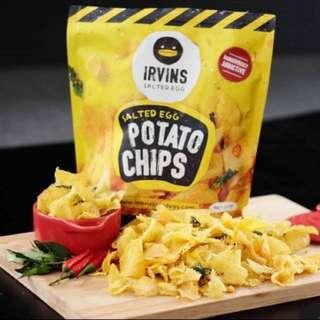 [Puchong] - IRVINS Salted Egg Potato Chips