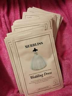 (搬屋清貨)婚紗面膜 x 15塊