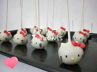 Hello Kitty Cake Pop 🎀