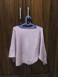 Knitted Top + PONDS BB Powder PINK new 😍