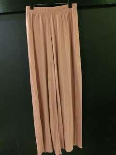 Asos Pleated Wide Leg Pants