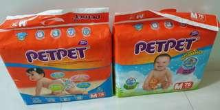 🚚 *NEW* 2 Packs Of Petpet Diapers (M size)