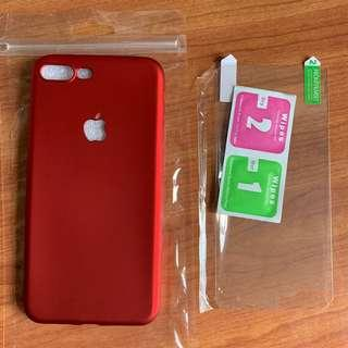 iPhone 7 Plus or 8 Plus casing + free screen protector