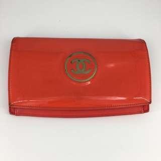 Chanel Long Wallet 長銀包 漆皮 #MILAN12