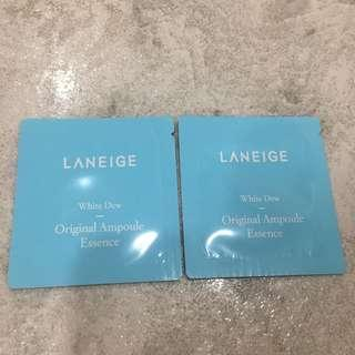 🚚 Laneige White Dew Original Ampoule Essence Sample