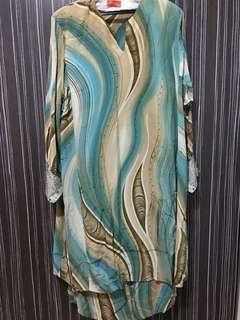 Baju Kurung Batik XXL