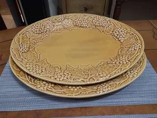 Vintage design serving platter - 2pcs #MakeSpaceForLove