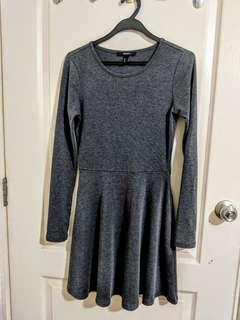 F21 Grey Dress