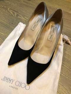 Jimmy Choo shoes with bag