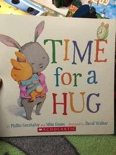 🚚 Time for a hug英文童書