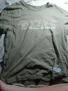 台牌Squad軍綠色短袖
