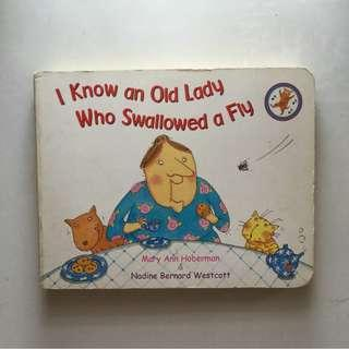 Fiction/Children: I Know An Old Lady Who Swallowed A Fly by Mary Ann Doberman and Nadine Bernard Wescott