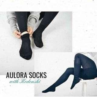 Aulora Socks with Kodenshi (Ladies)