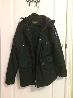 Vintage Timberlands Navy Blue Jacket