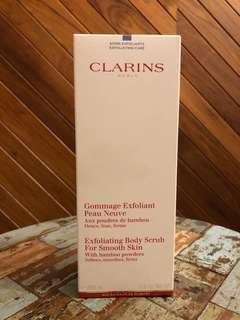 🚚 Clarins Exfoliating Body Scrub 200ml