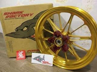 金門鈦炫 鯊魚工廠鍛造輪框 鯊魚 鍛框 鍛造框
