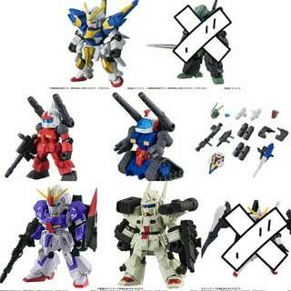 Mobile Suit Ensemble Figures