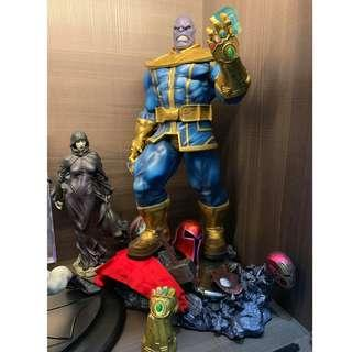 XM Studios 1/4 Scale Thanos PAINTED with custom base and Death